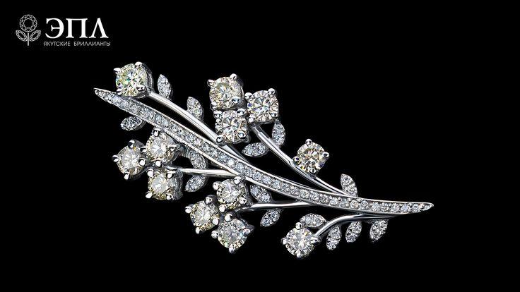 Модные украшения 2020 - брошь с драгоценными камнями и ...