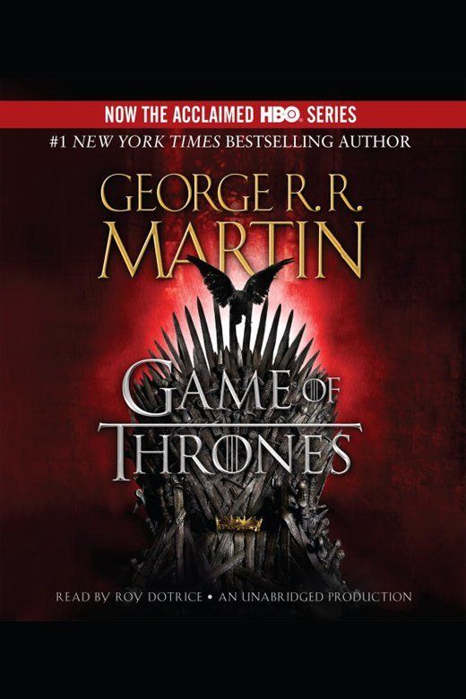 NOW THE ACCLAIMED HBO SERIES GAME OF THRONES    From a master of contemporary fantasy comes the first novel of a landmark series unlike any you've ever read before. With A Game of Thrones, George R. R. Martin has launched a genuine masterpiece, bringing together the best the genre has to offer. Mystery, intrigue, romance, and adventure fill the pages of this magnificent saga, the first volume in an epic series sure to delight fantasy fans everywhere.     A GAME OF THRONES  A SONG OF ICE AND…