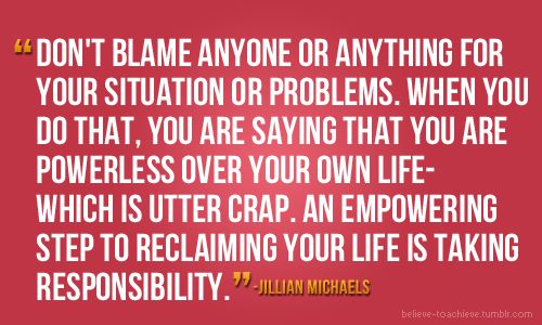 xoInspiration, Quotes, Man Up, Jillian Michael, Truths, Gift Cards, Take Action, Jillianmichaels, Peanut Butter Brownies