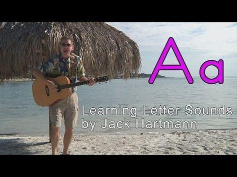 Letter Sounds | Alphabet Song | Educational Songs | Kids Videos | YouTube for Kids | Jack Hartmann - YouTube