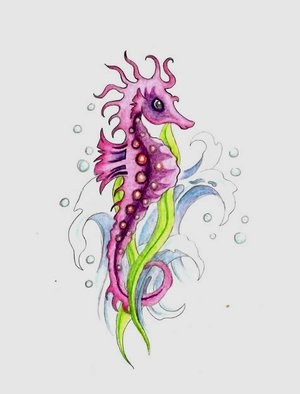 23 best images about seahorse tattoo ideas for me my momma on pinterest a concept animals. Black Bedroom Furniture Sets. Home Design Ideas