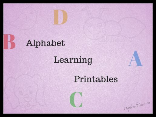 Free Alphabet Printables! Learn to write the alphabet!  #theultimateparty – Week 5