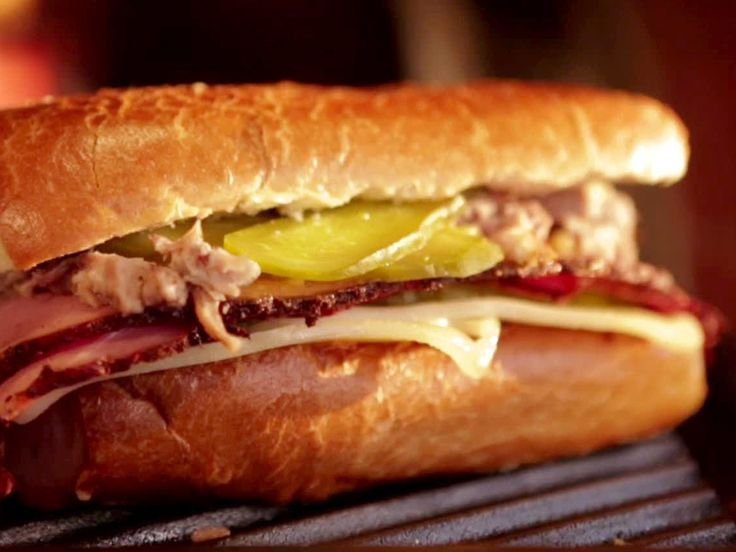 Mojo Cuban Sandwich Recipe : Guy Fieri : Food Network - FoodNetwork.com