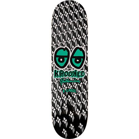 "Zumiez - The Bright Eyes 8.5"" skate deck from Krooked Skateboards"