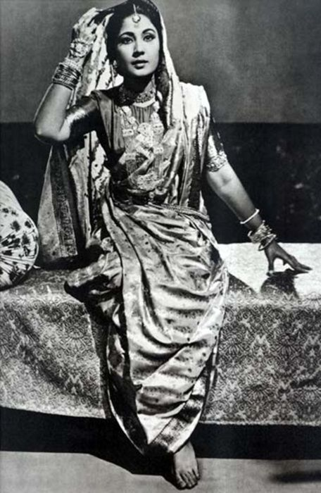 the beautiful Meena Kumari