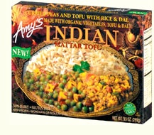 every Amy's  meal I've eaten was delicious. They are a few $ more than other frozen meals, but worth it. Veggie Lasagna and the Indian meals are my favorites. 8-10 points each!