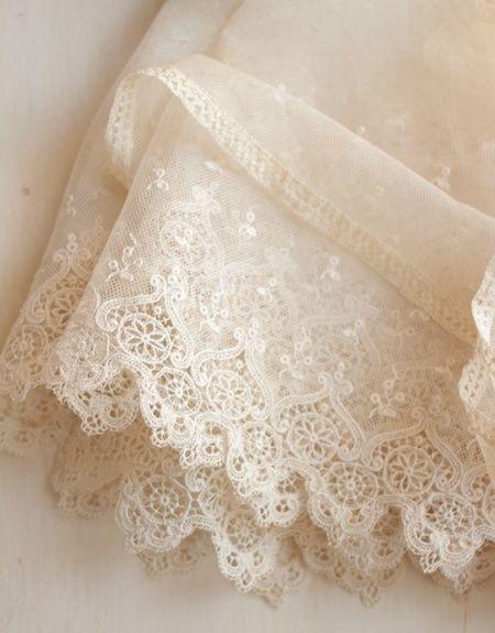 Delicate vintage lace by soapycrayon