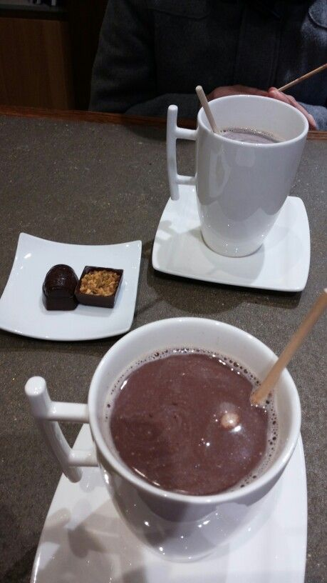 Daskalides' hot choco is simply amazing