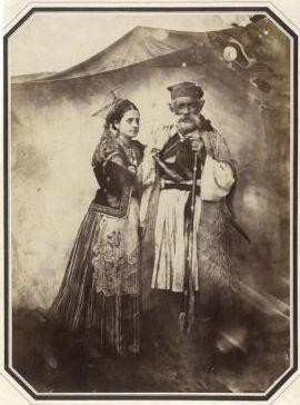Războinic valah si femei România