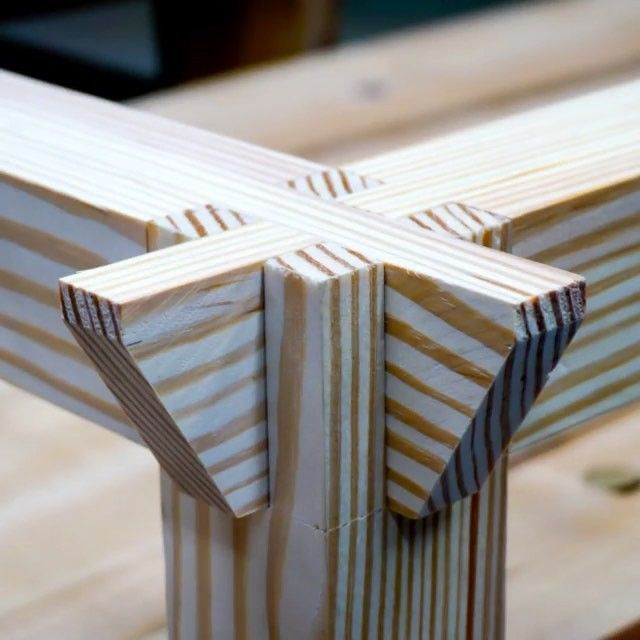 Interlocking Double Bridal Joint Aka Castle Joint Have