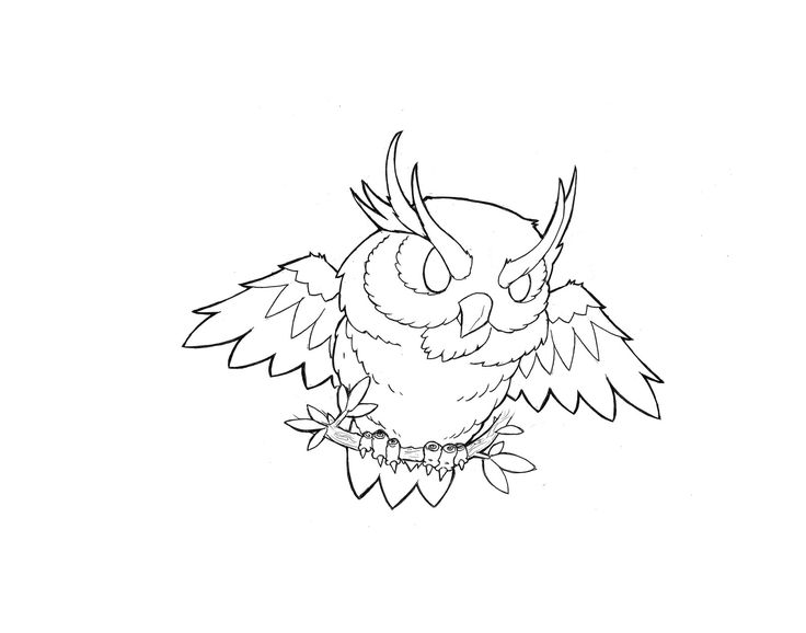 23 Best Images About Owls Tattoo Design
