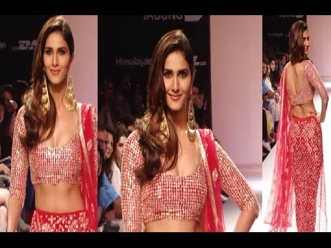Vaani Kapoor's stunning ramp walk at Lakme Fashion Week 2014.