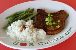 In My World . . .: Teriyaki Pork Chops