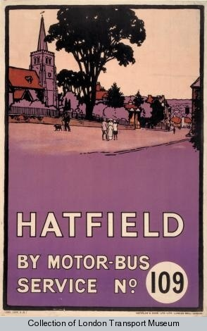{Transportation poster from the London Transport Museum}
