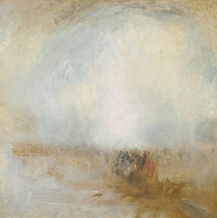 Joseph Mallord William Turner (1775‑1851), Venetian Scene, c.1840-5