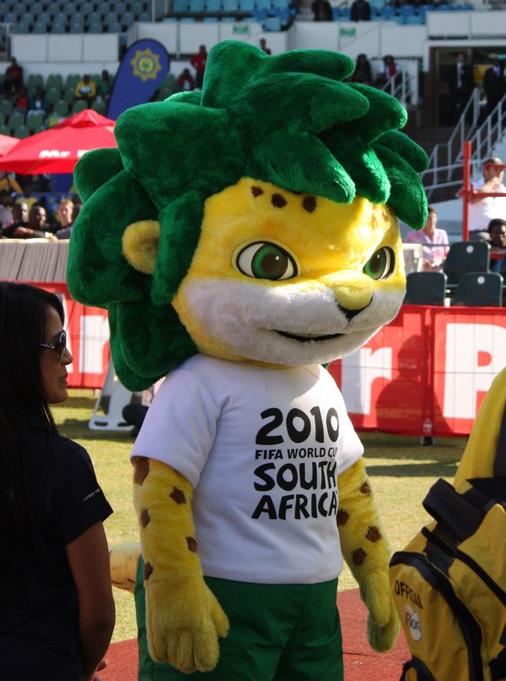 Zakumi, the 2010 FIFA World Cup South Africa™ official mascot | by Kleinz1