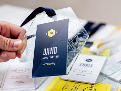 Best Conference Badges Images On   Conference Badges