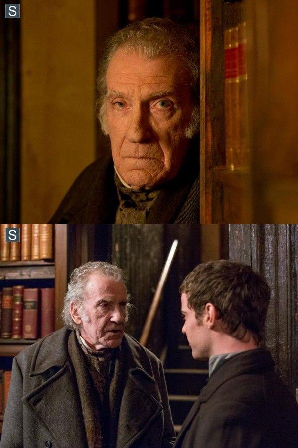 Penny Dreadful, David Warner as Professor Abraham Van Helsing.