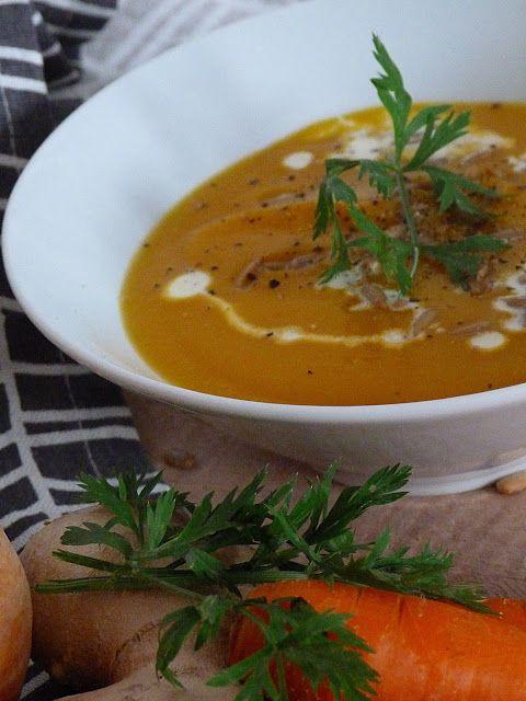 Kouzlo mého domova: Mrkvová polévka se zázvorem