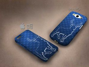 Deer tardis blue 3D case, full image, for iphone 4/5/5c & Galaxy S3/S4