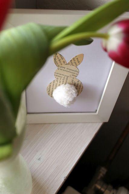 Osterdeko Osterhase Easter Bunny Easter Decor