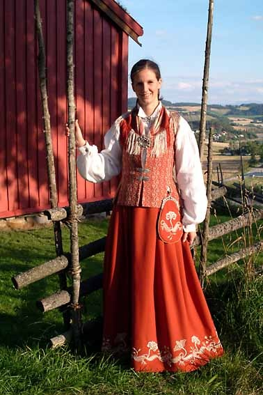 Norwegian Traditional Costume