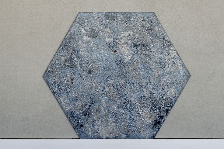 Panel ścienny tynkowany Paneletto - Hexa Earth 01