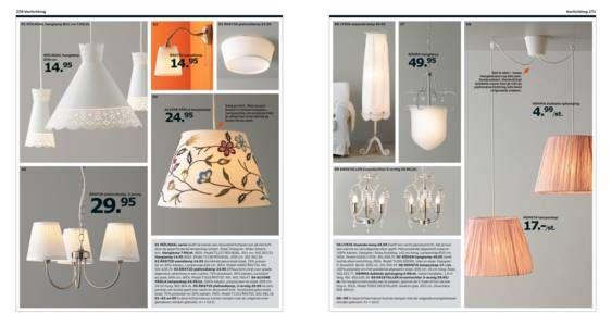 Lampen voor een lieve, vrouwelijke sfeer. IKEA Catalogus 2015