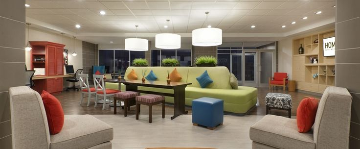 Home2 Suites by Hilton Houston Pasadena Hotel, TX - Oasis Lobby