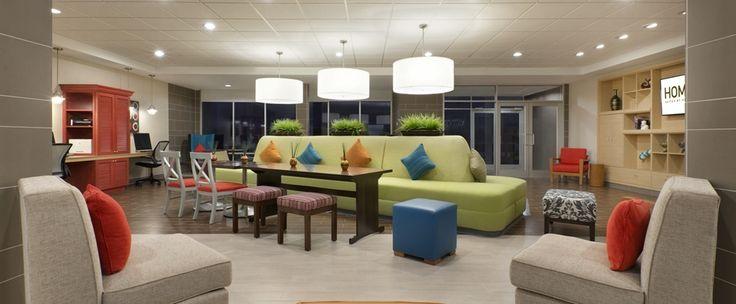 Home2 Suites by Hilton Houston Pasadena Hotel, TX - Oasis Lobby