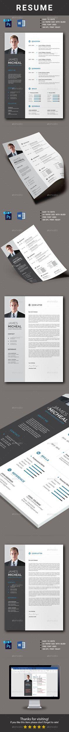 96 best Resume images on Pinterest Resume templates, Cv template - new libre office resume template
