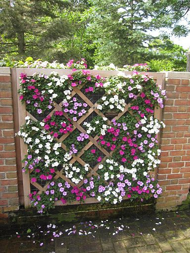 Garden Wall Ideas garden wall ideas information database garden idea 23 Creative Diy Fence Design Ideas