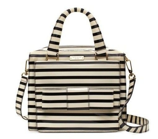 """""""Kate Spade's 'Ruby Street Little Kennedy' bag ($398) is the perfect purse-turned-lunch-box. With its square shape, multiple zippers, and charming design, this bag could be carrying your afternoon meal in no time."""" 