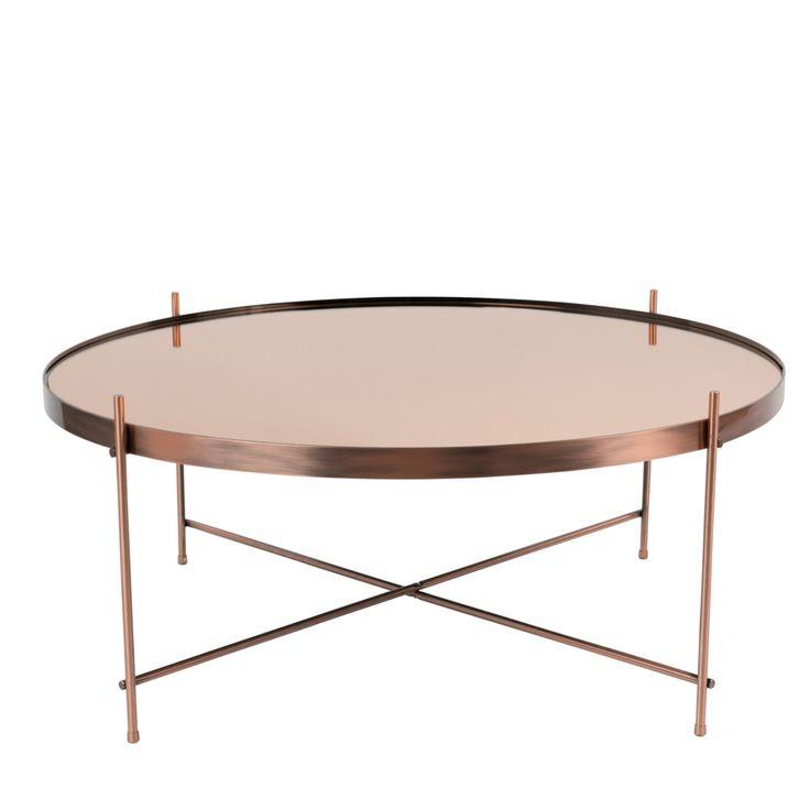 stolik kawowy, średnica 82,5 cm, wys. 35cm