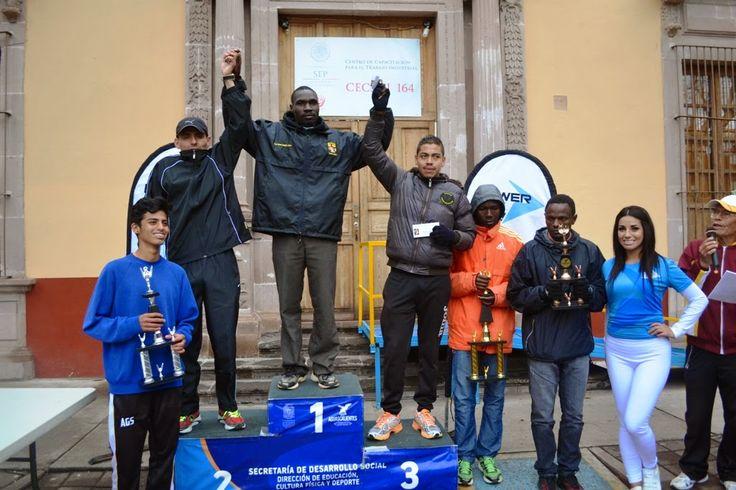 Keniano se quedan con la Carrera de San José en Aguascalientes ~ Ags Sports