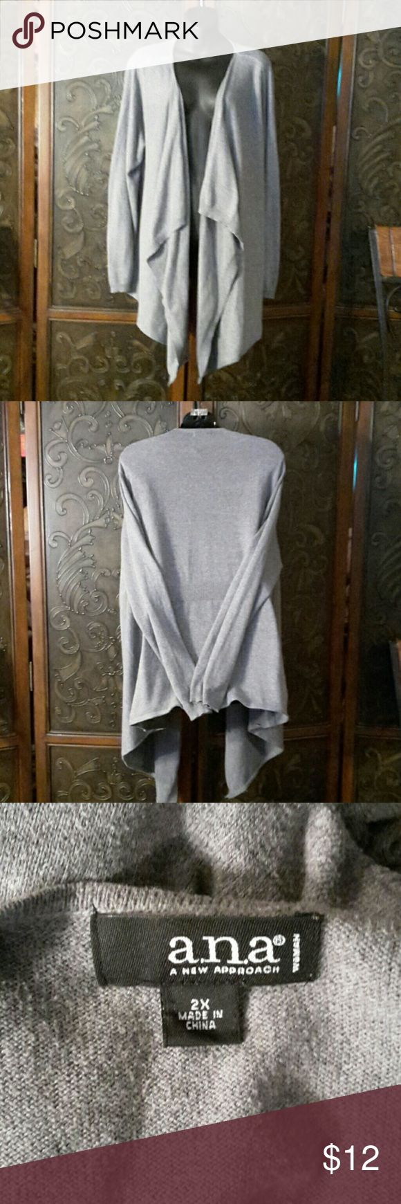 Cardigan Open front grey ana Sweaters Cardigans