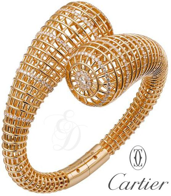Emmy DE * Cartier caged #Ring