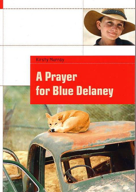 Cover of the German edition of A Prayer for Blue Delaney. This edition is an abridged version that is studied in German secondary schools.