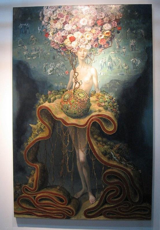 Julie Heffernan, painting