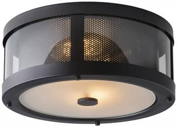 Bluffton Flush Mount Ceiling Light - Flush Mount Lighting - Flush Mount Ceiling Lights - Rustic Lighting | HomeDecorators.com
