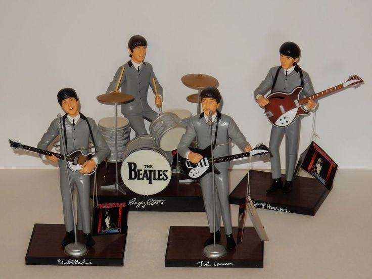 Apple Corps Ltd 1991 Hamilton Beatles Figures **COMPLETE SET**