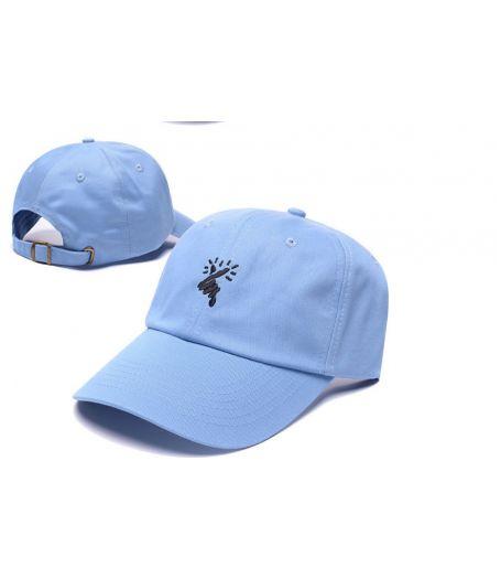 8MM Hearts Love Strapback Hat (Blue)#dadcap #korea #headwear #fashion