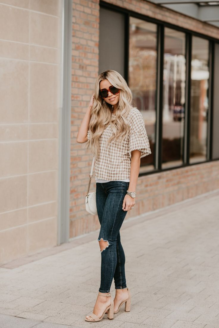 Crushing On Gingham - The Most Adorable Gingham Top For Spring