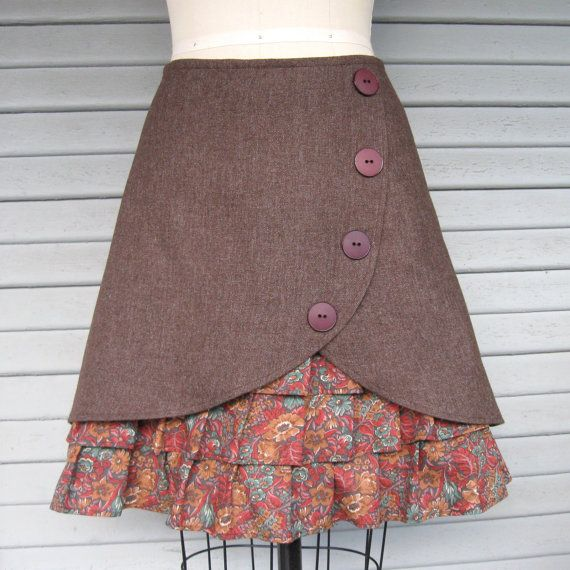 i don't wear skirts much but this one is adorable and would still go with my boots!