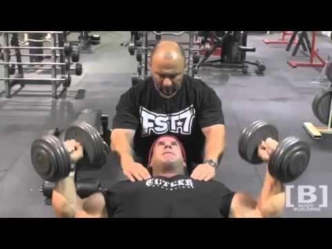 Jay Cutler Shoulder & Chest Workout Upper Body Trainning - YouTube