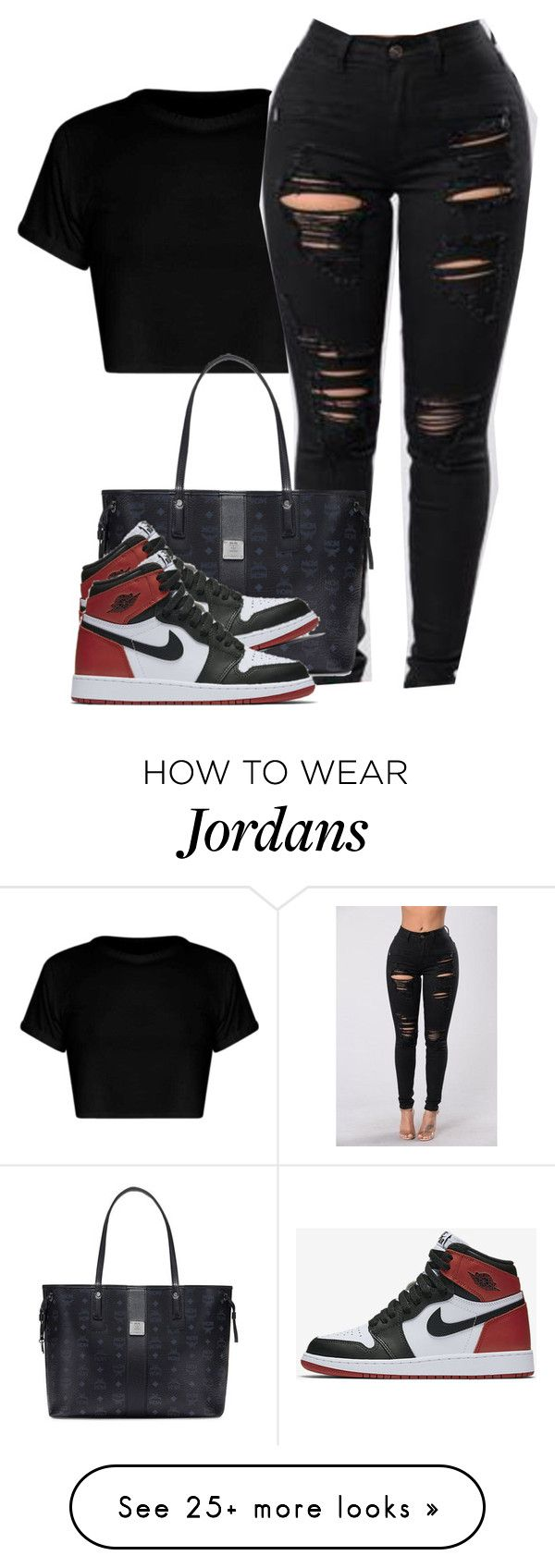 """Kiss it better"" by alexanderbianca on Polyvore featuring MCM and NIKE"
