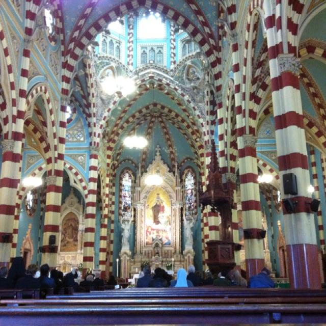 Iglesia de la Virgen del Carmen. Bogota - Colombia