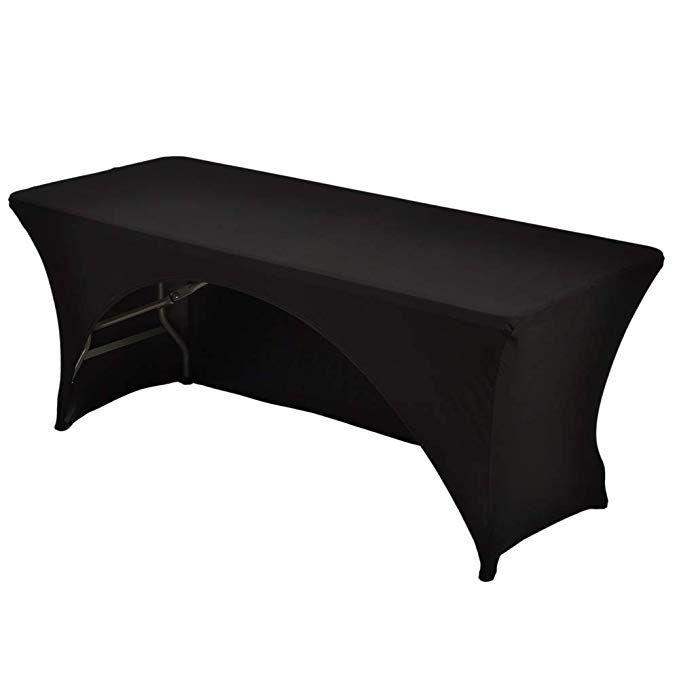 Fitted Table Cover WATERPROOF Table Cover Patio Outdoor Indoor Trade show 5/' ft