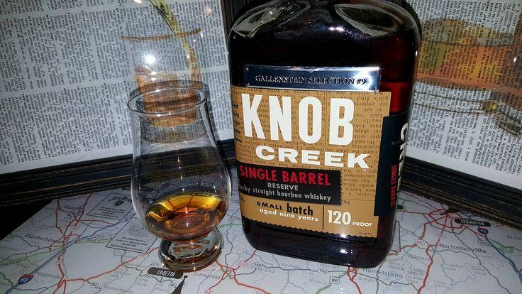 Review #34: Knob Creek 120 Gallenstein Select Single Barrel #bourbon #whiskey #whisky #scotch #Kentucky #JimBeam #malt #pappy