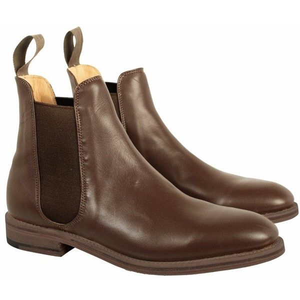 Jack Wills Whittenham Chelsea Boot ($199) ❤ liked on Polyvore featuring shoes, boots, ankle booties, tan, chelsea boots, pull on boots, leather boots, pull on leather boots and tan leather boots